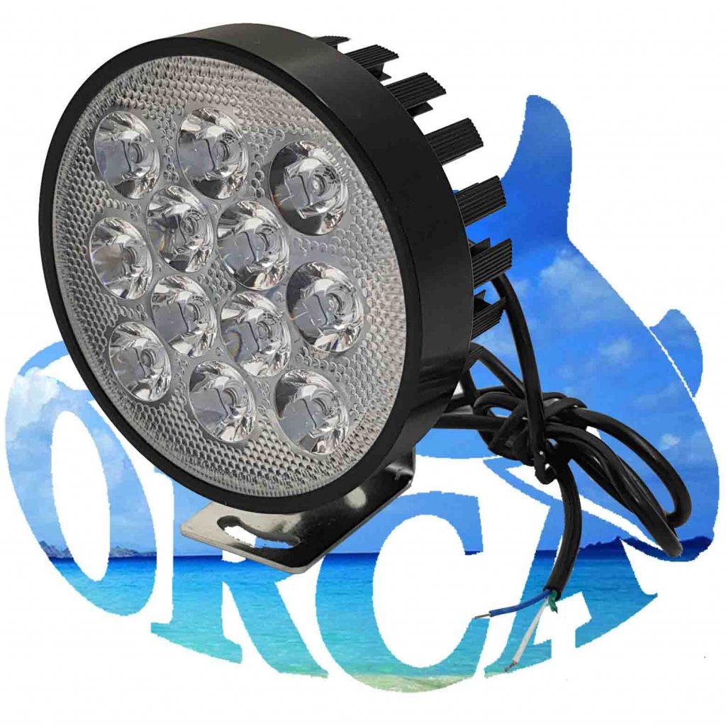פנס קדמי לאופניים חשמליים-12LED-LIGHT