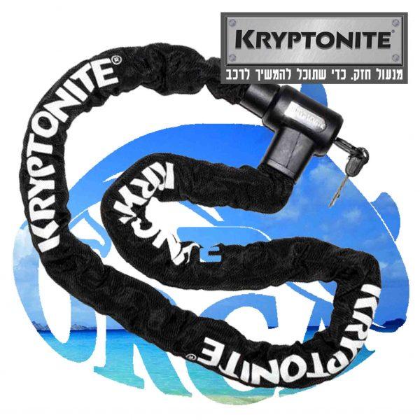 Kryptonite מנעול קריפטונייט בזול מומלץ לאופניים חשמליים מנעול חזק לאופנועים