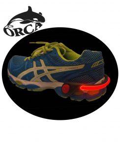 פנס לנעליים ולאופניים חשמליות פנס נצמד של ORCA