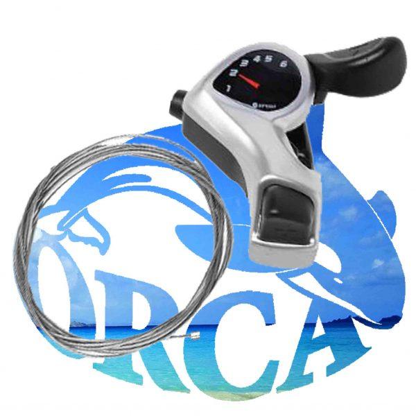 shimano shifter 6 gears-מעביר הילוכים שימנו