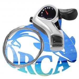 shimano shifter 7 gears-מעביר הילוכים שימנו