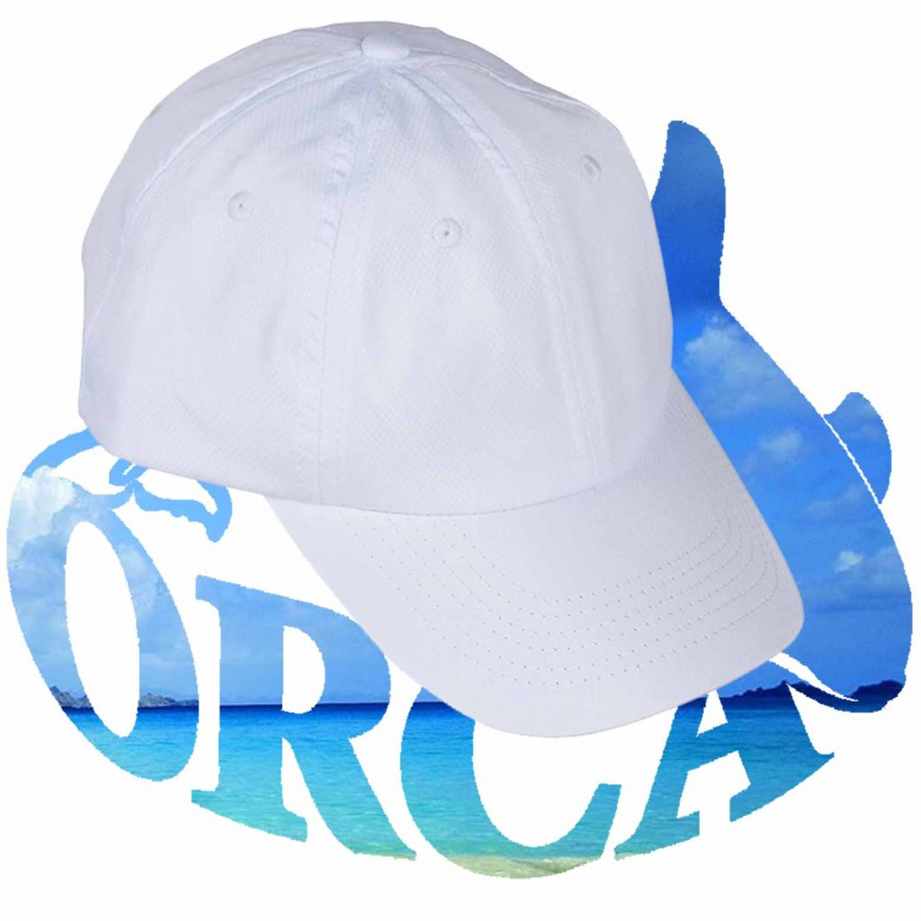 כובע מצחיה דרייפיט 6 פאנל לבן