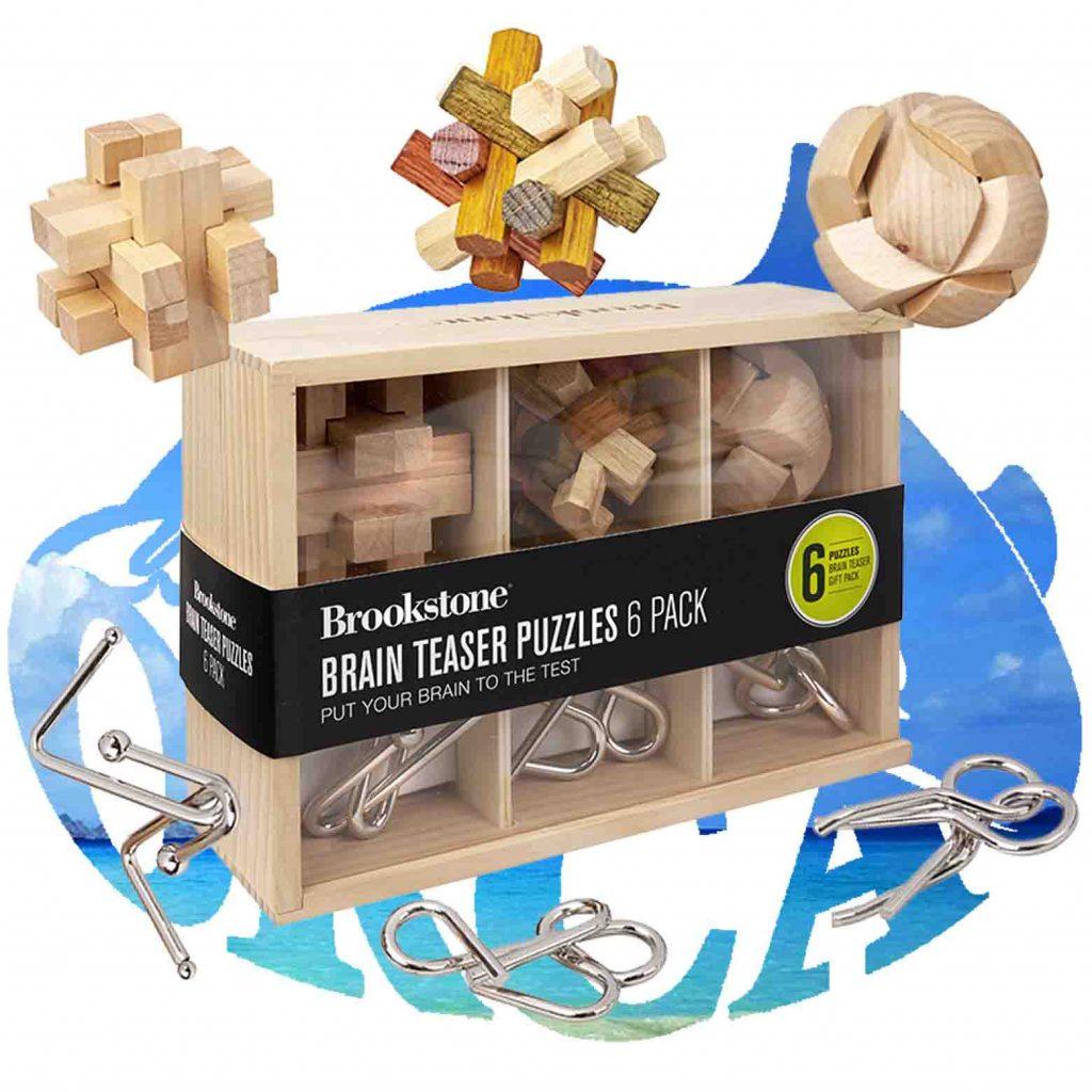 מארז 6 משחקי חשיבה brain teaser puzzles