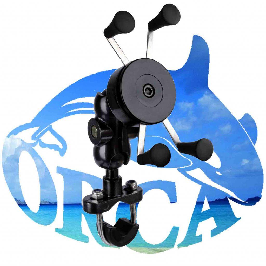 מתקן אוניברסלי לטלפון לאופנוע, קטנוע ואופניים