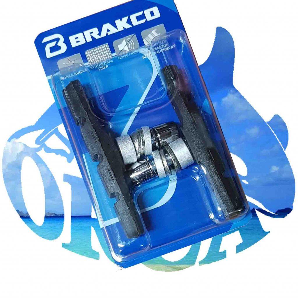 brakco-רפידות בלמים לאופניים -V-BRAKE